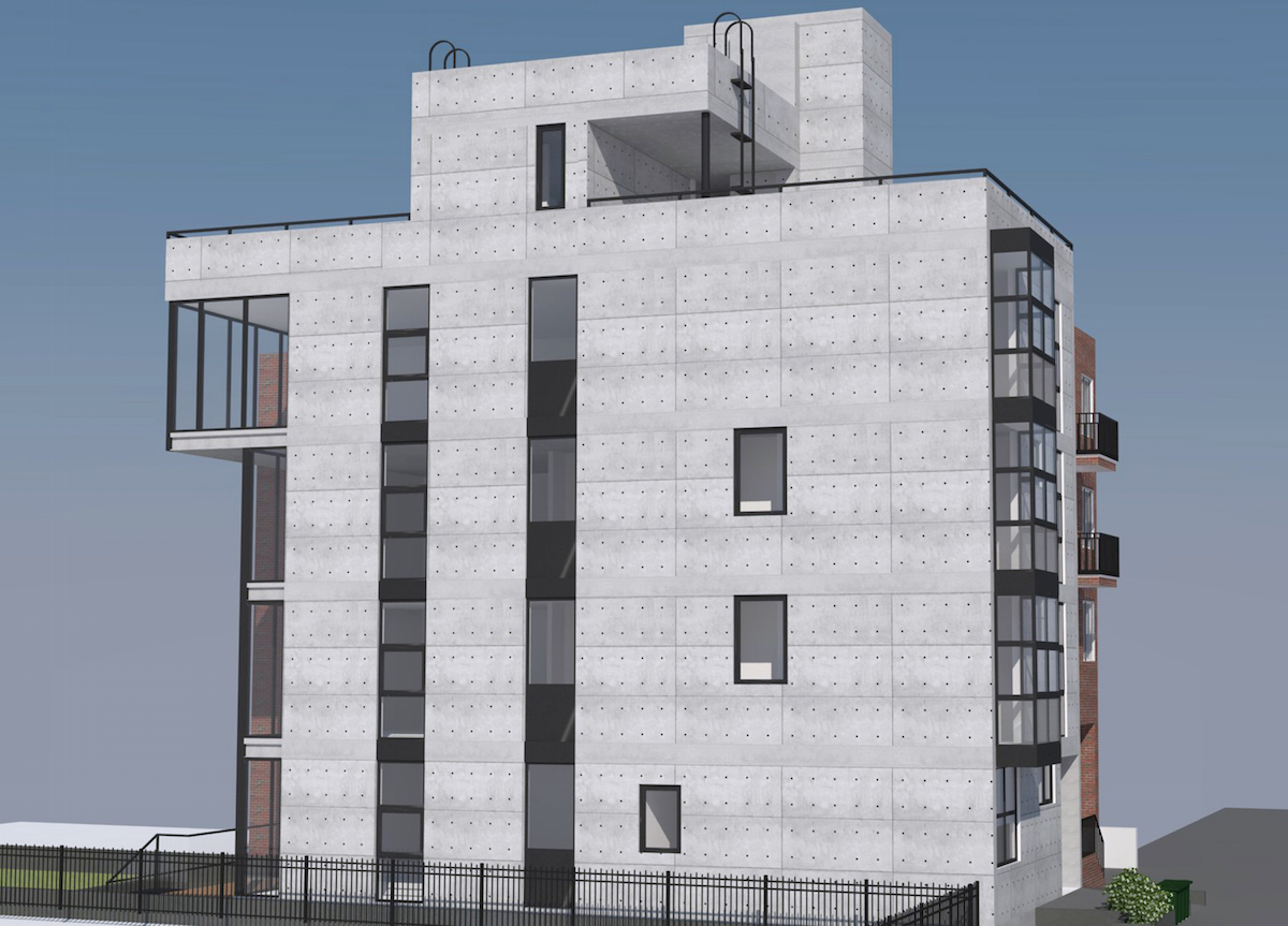 371 Baltic Street, rendering by Atelier New York Architecture
