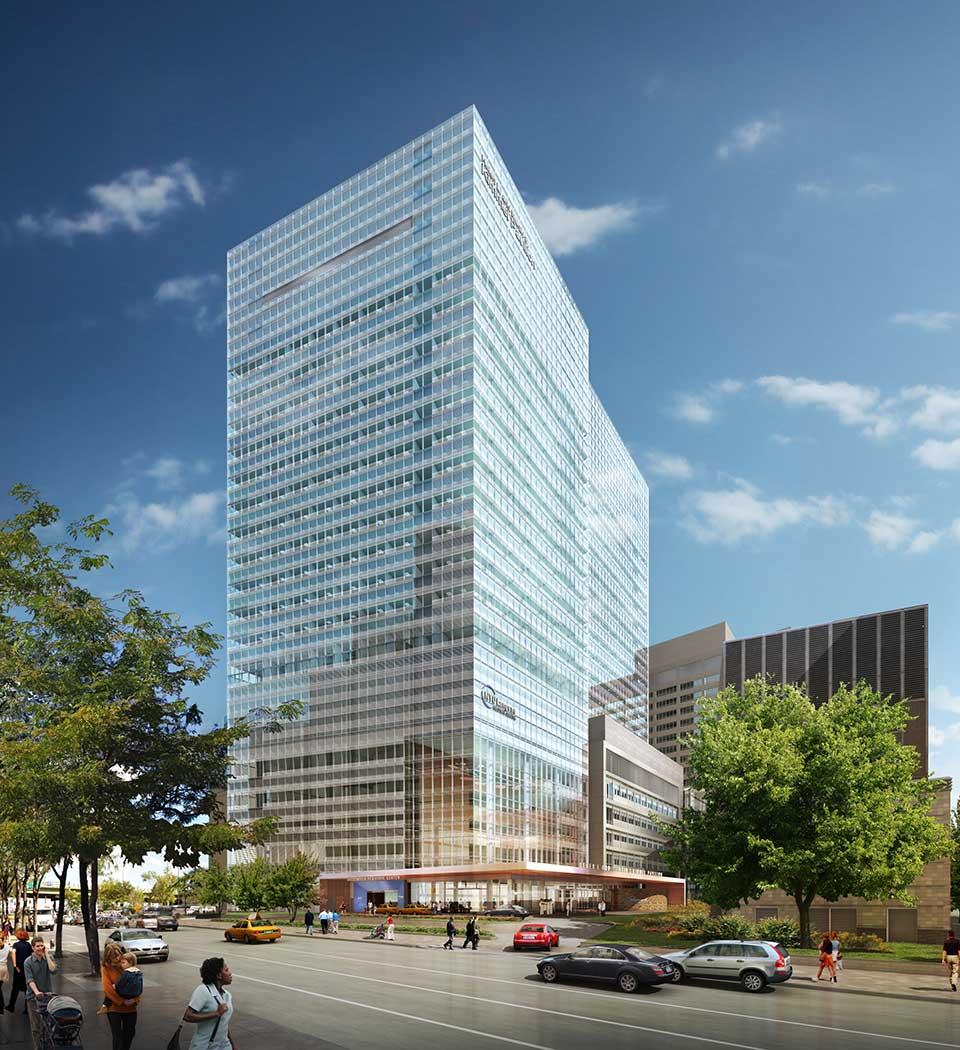 NYU Langone's 21-Story, 830,000 Square-Foot Hospital Expansion Rises