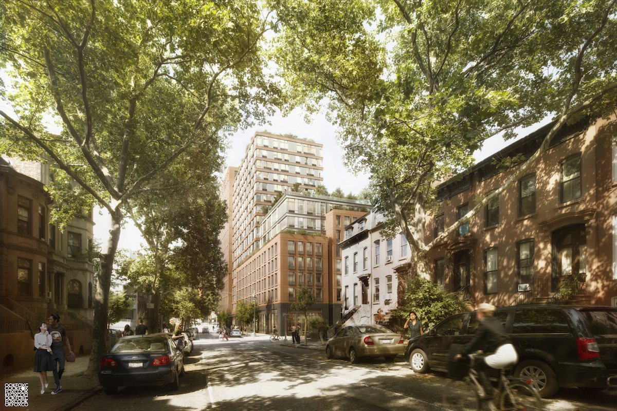 535 Carlton Avenue, rendering by COOKFOX