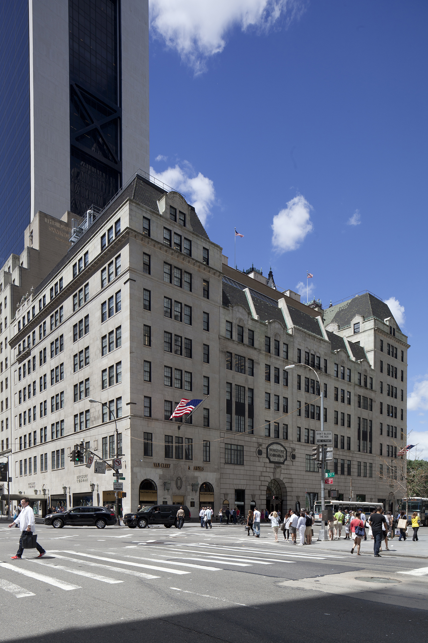 Bergdorf Goodman, at 754 Fifth Avenue