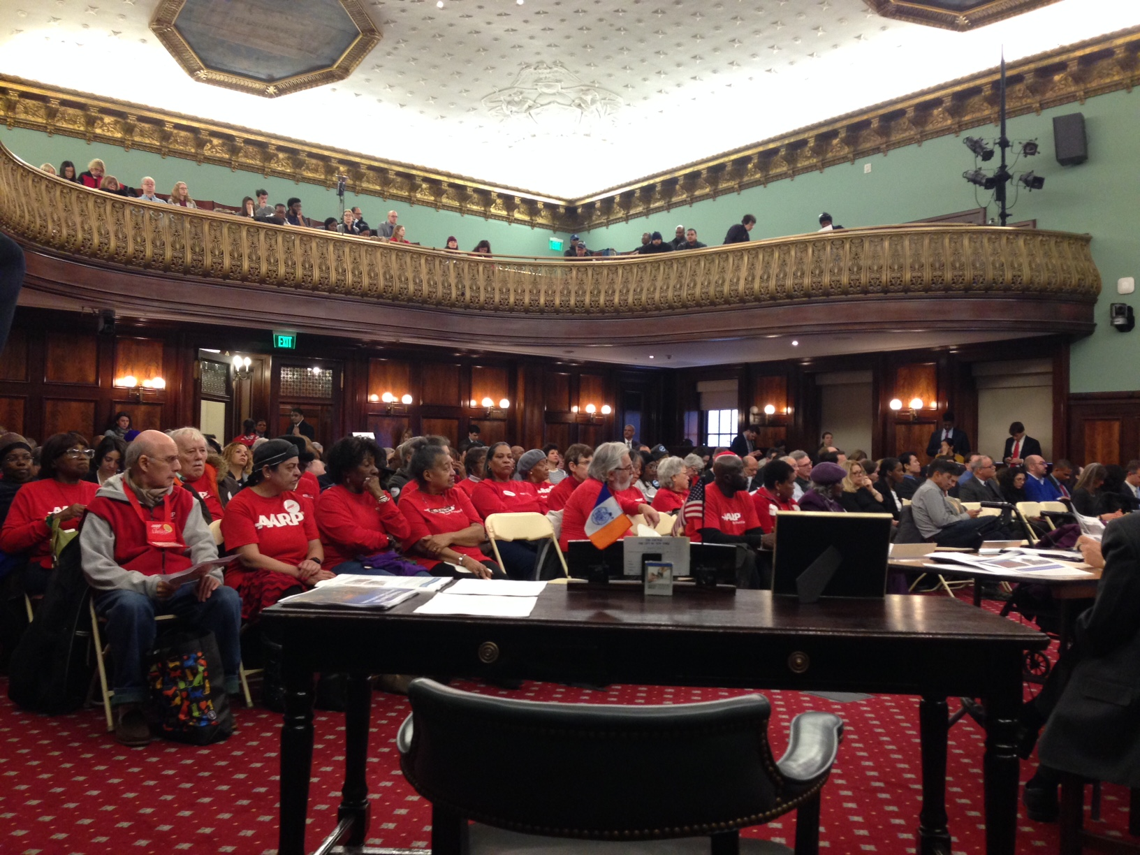 City Council hearing on Zoning for Quality and Affordability. photo by Rebecca Baird-Remba