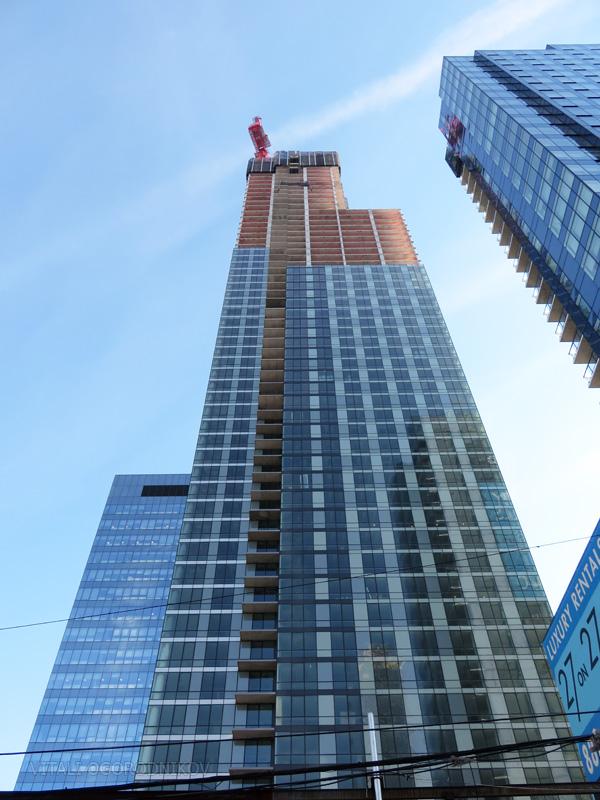 27th Street facade