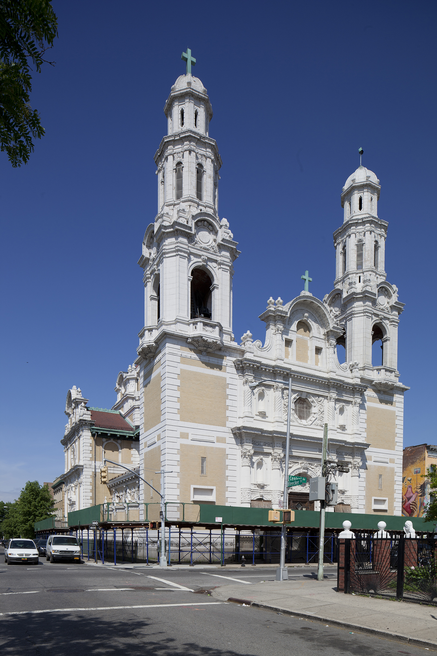 St. Barbara's Roman Catholic Church, 138 Bleecker Street. LPC photo.