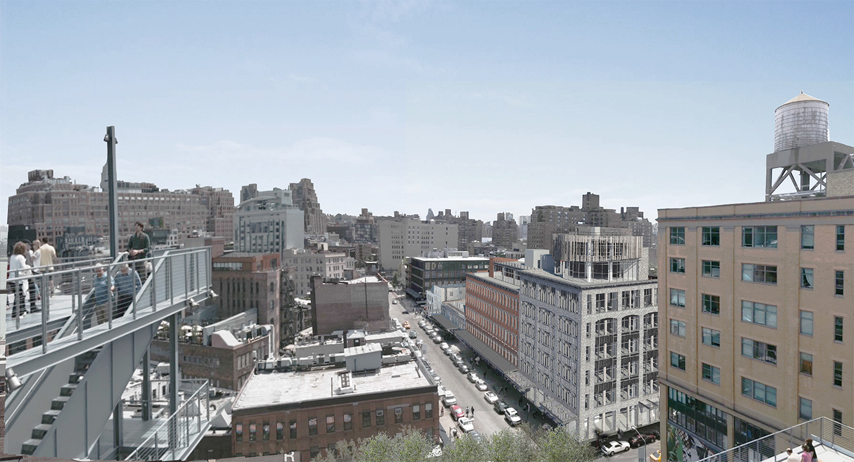 Gansevoort Market Plan 4648 Gansevoort Street  New York Yimby