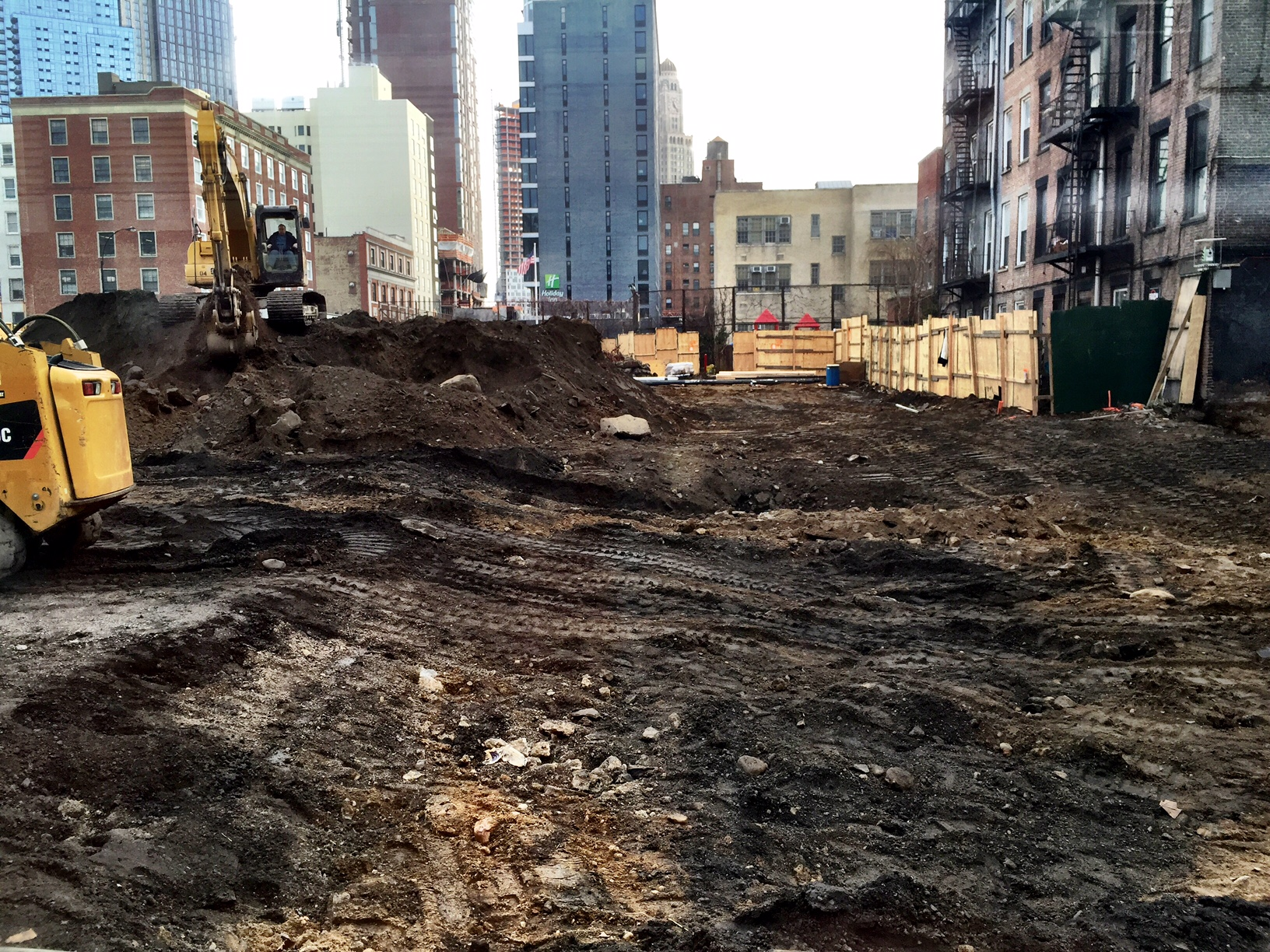 Work being done at 61 Bond Street in Brooklyn. Photo by Tectonic.