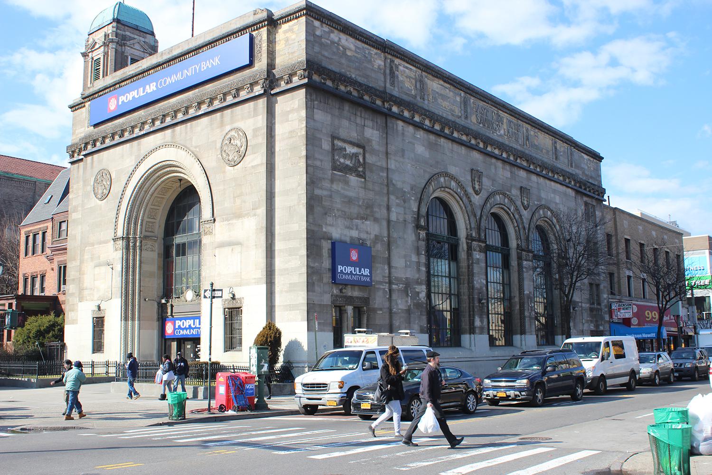 East New York Savings Bank Building, 1117 Eastern Parkway. LPC photo.