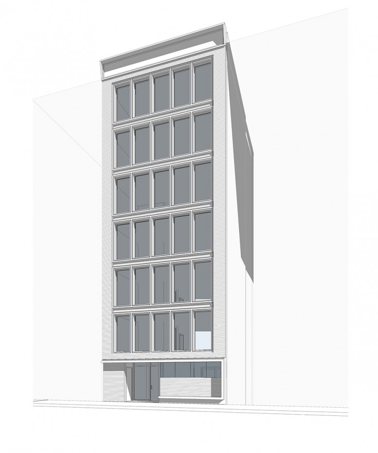 142 West 19th Street, rendering via Urban Standard Development