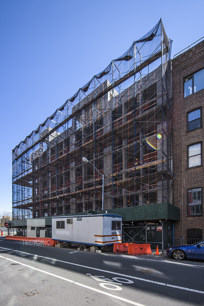 Construction at 150 North 12th Street. Photo by Tectonic