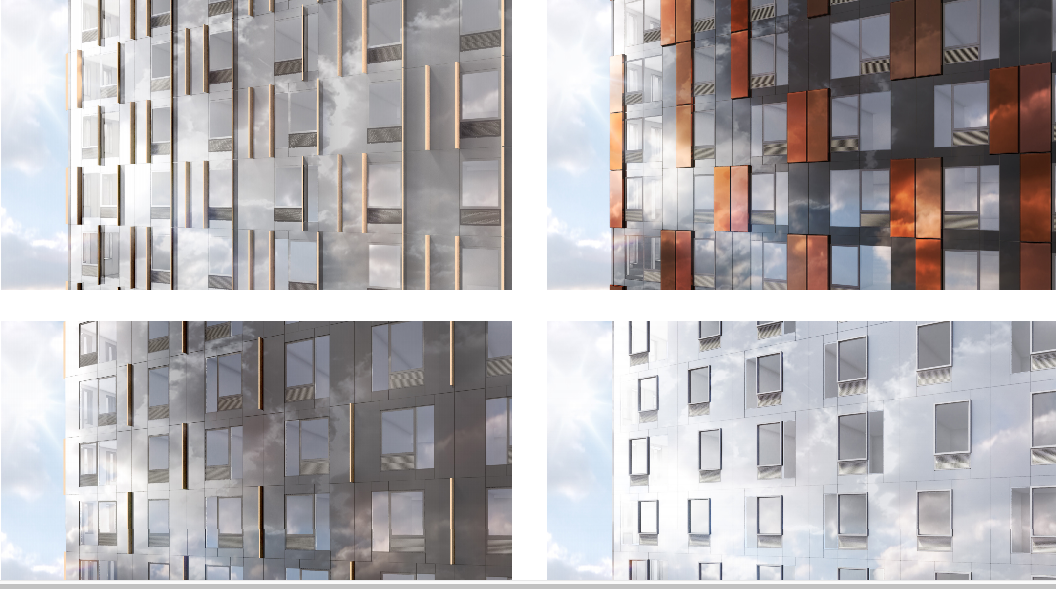 38 Sixth Avenue facade, rendering by SHoP Architects