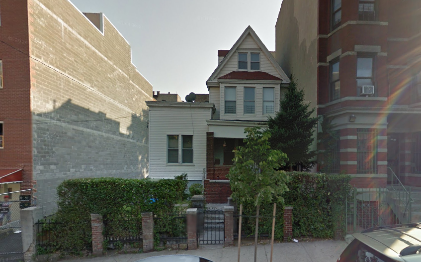 712 East 175th Street, image via Google Maps
