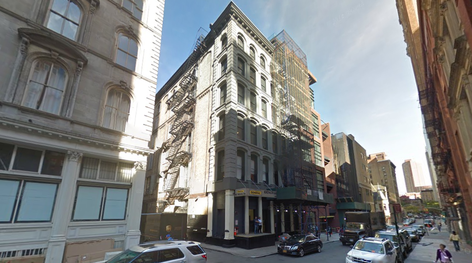 80 White Street in September 2014, image via Google Maps