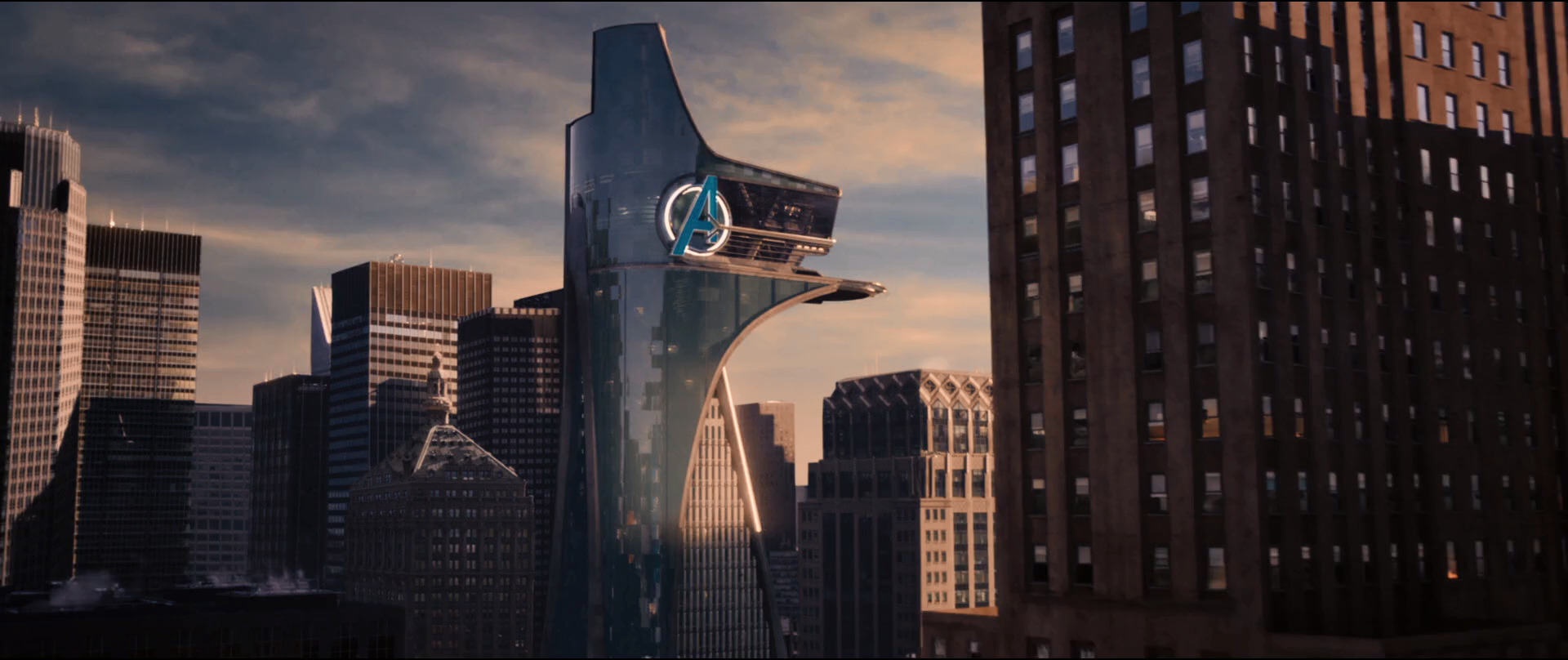 "Avengers Tower in ""Avengers: Age of Ultron"""
