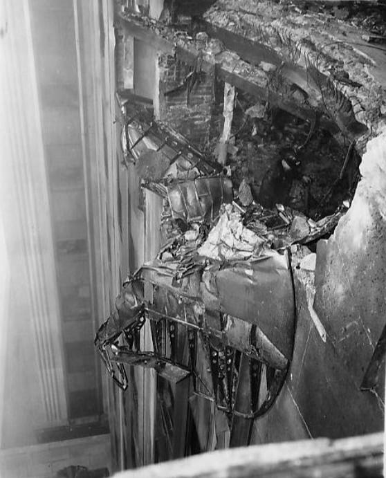 Empire State Building plane crash.