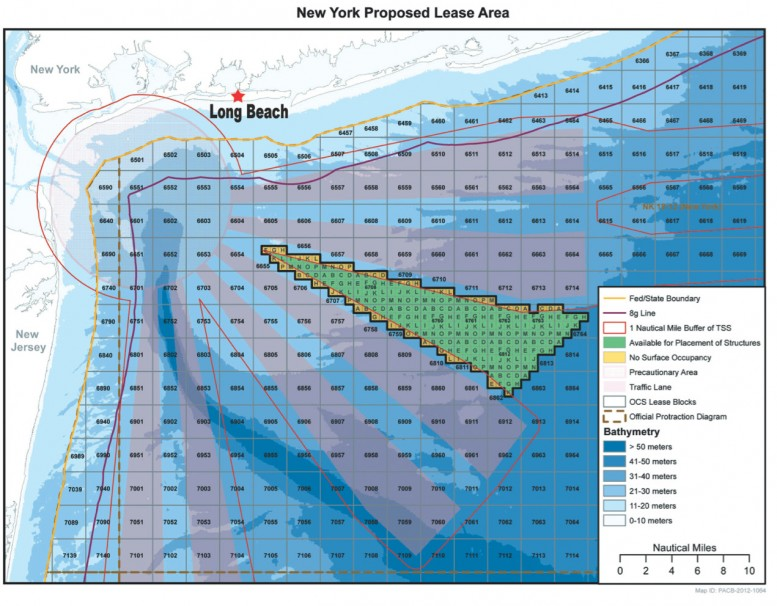 Long Island Offshore Wind Farms