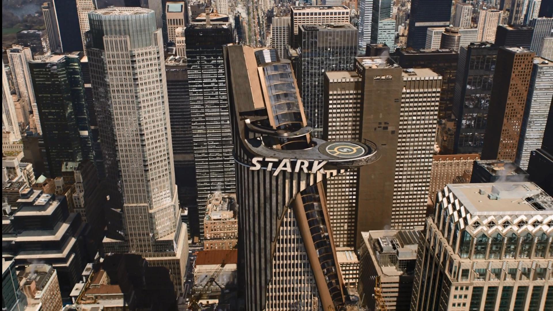 """Stark Tower in """"The Avengers"""""""