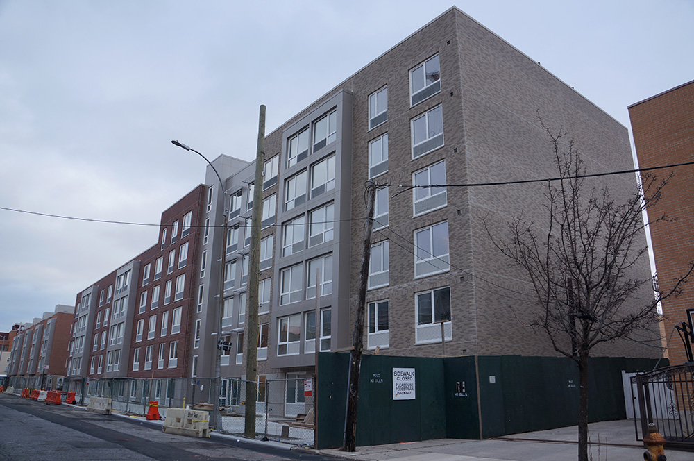 Prospect Plaza's first phase is nearly finished at 1765 Prospect Place