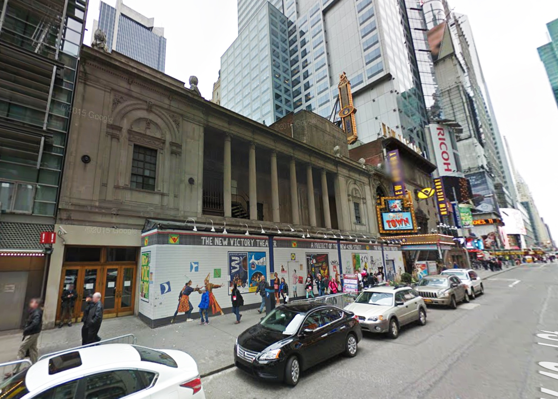 Times Square Theater, 2014. Via Google Maps.