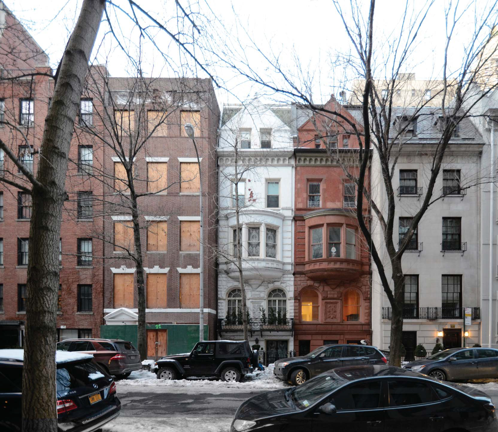 Current conditions at 11-15 East 75th Street