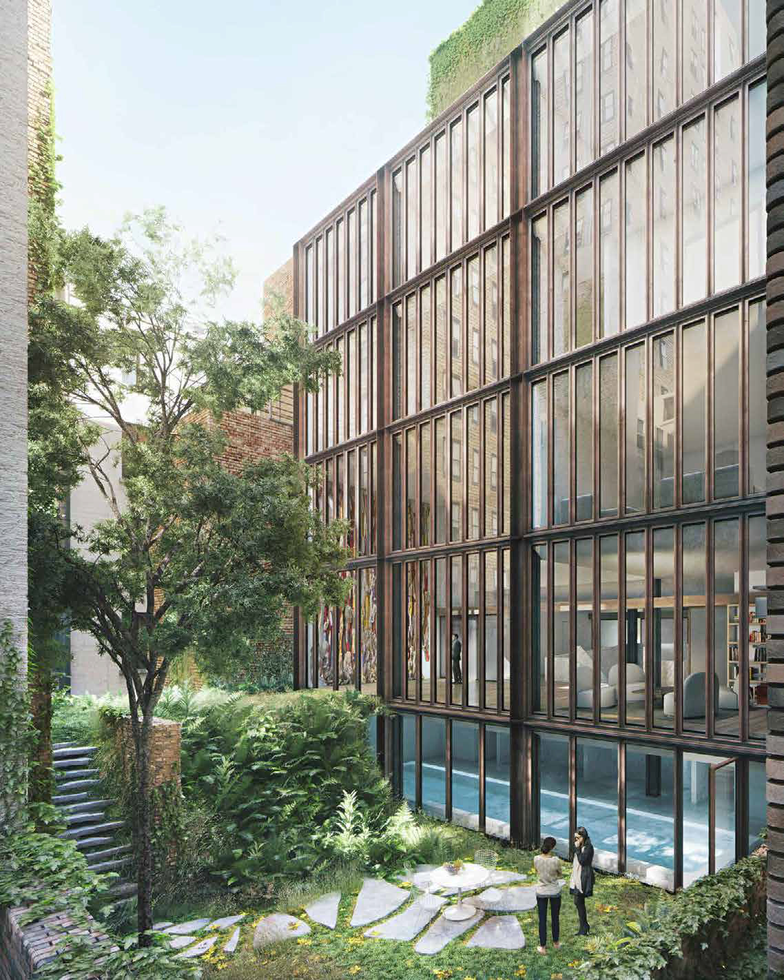 Proposal for the rear of 11-15 East 75th Street