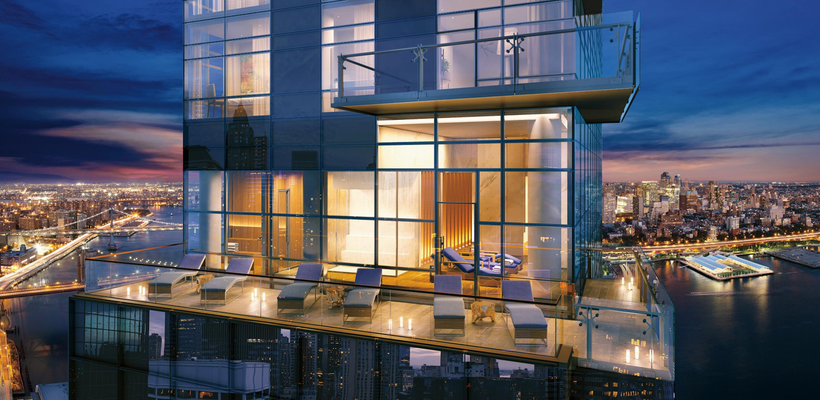 New renderings revealed of 60 story 80 unit condo tower for 111 maiden lane salon