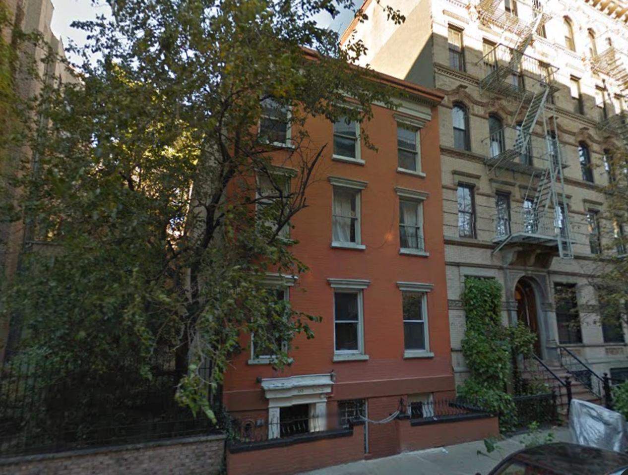 Pre-demolition 253 East 7th Street, image via Google Maps