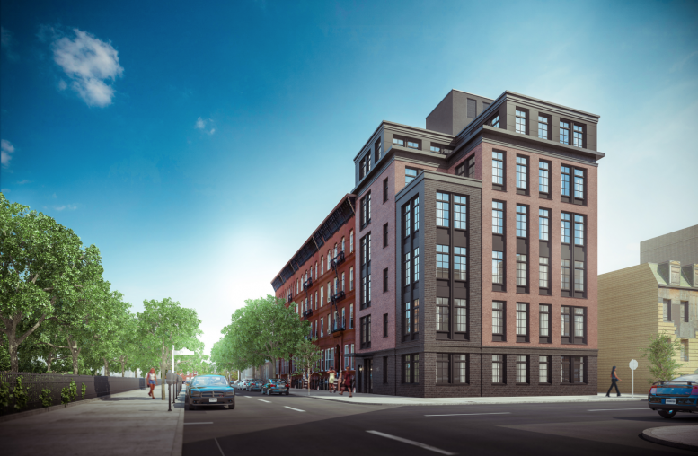 253 Tompkins Avenue, rendering by Issac and Stern Architects