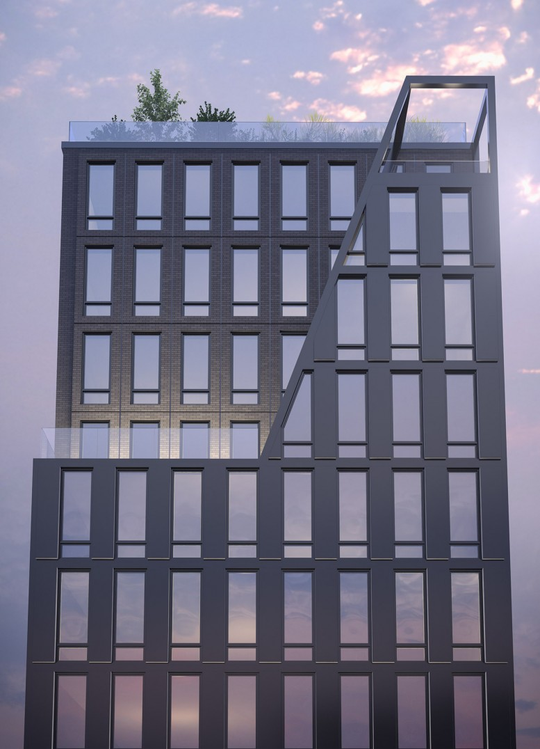 287 East Houston Street, rendering via Hogg Holdings