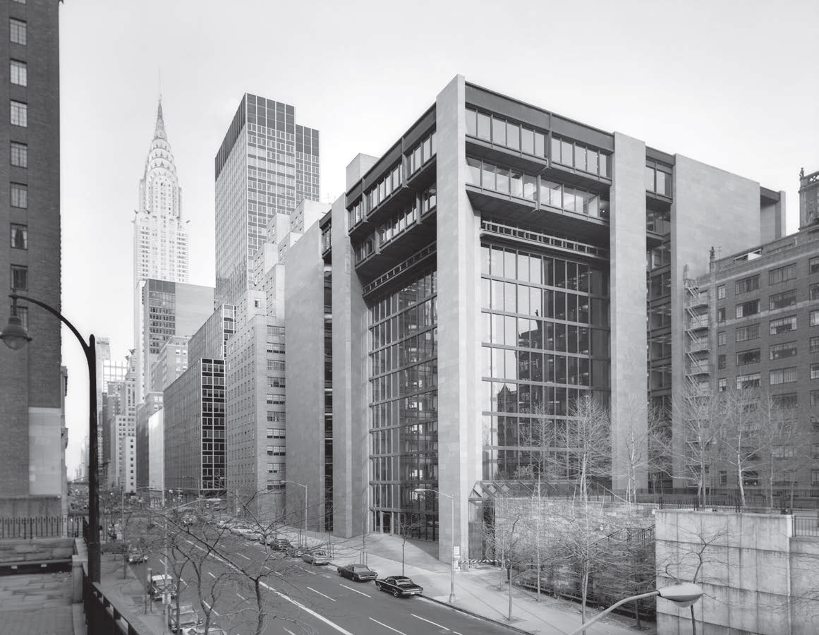 The Ford Foundation Building, 320 East 43rd Street, 1967