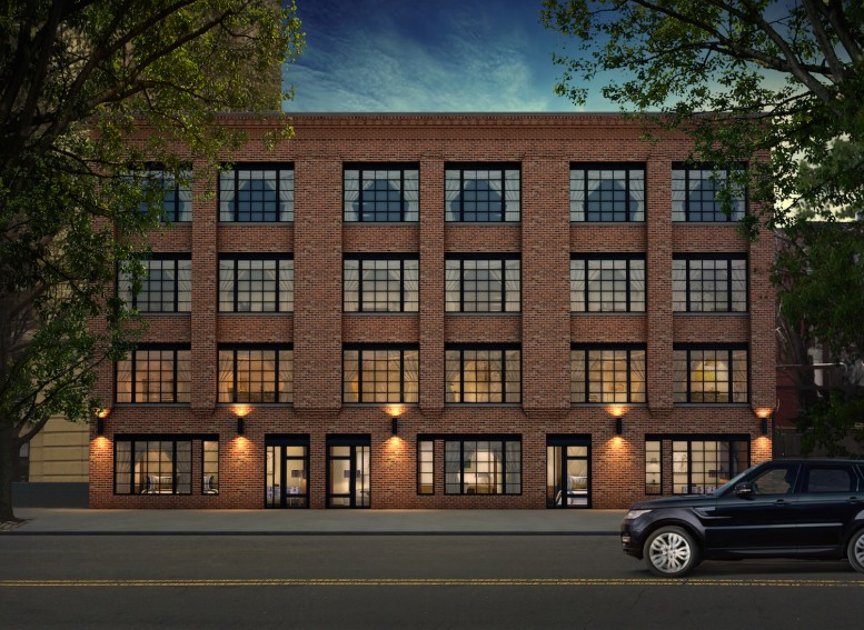 366-370 Gates Avenue, rendering via Tower Real Estate Investments