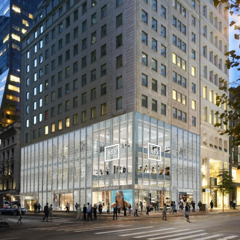 Redesigned Retail Space, Five-Story Office Expansion for 20