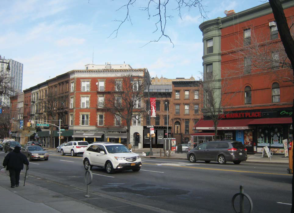 Rendering of 75 St. Marks Avenue, view from Flatbush Avenue