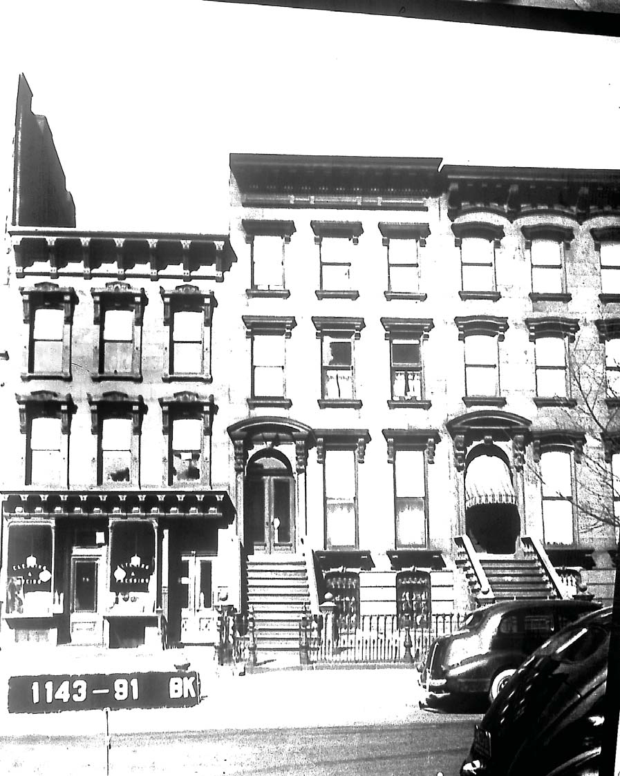 Old tax photo of 75 St. Marks Avenue