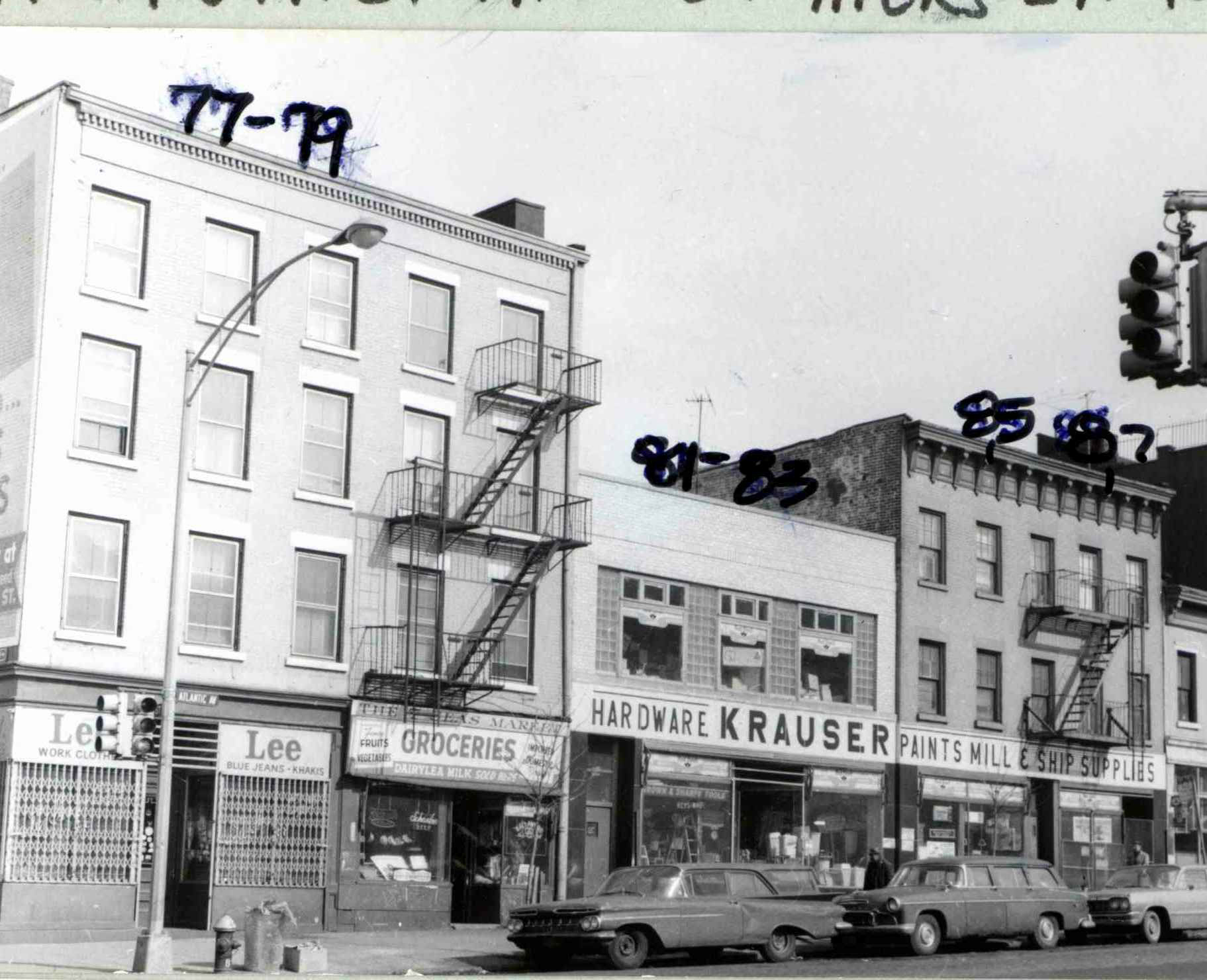 81 Atlantic Avenue, at the time of the district's designation