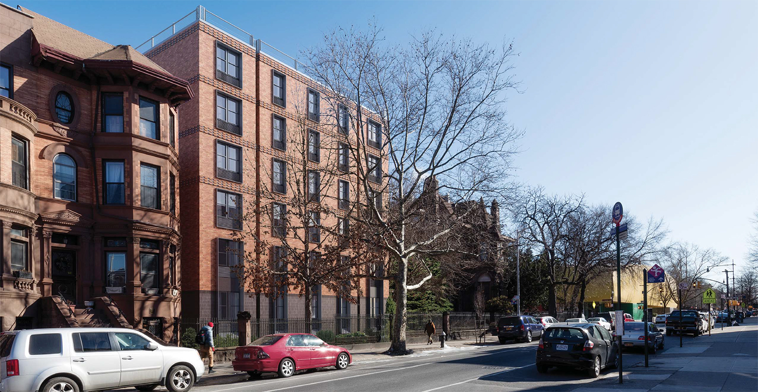 Proposal for 839 St. Marks Avenue, Brooklyn Avenue view