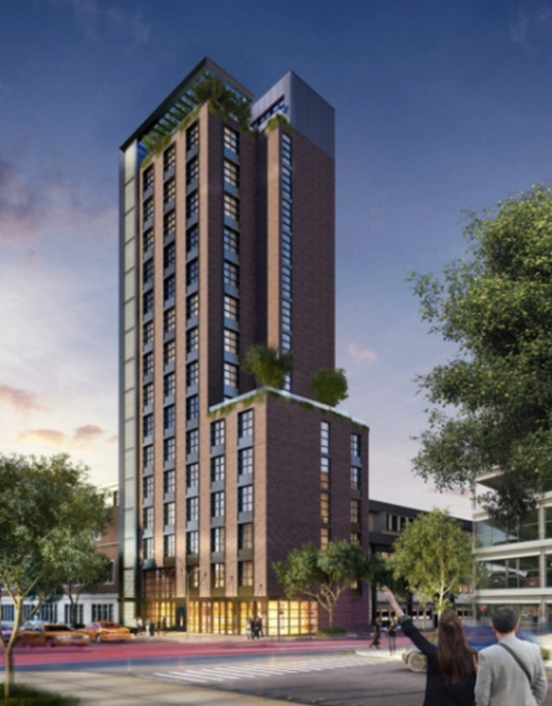 15 story 68 key hotel filed at 149 21 archer avenue for Jackson terrace yonkers ny