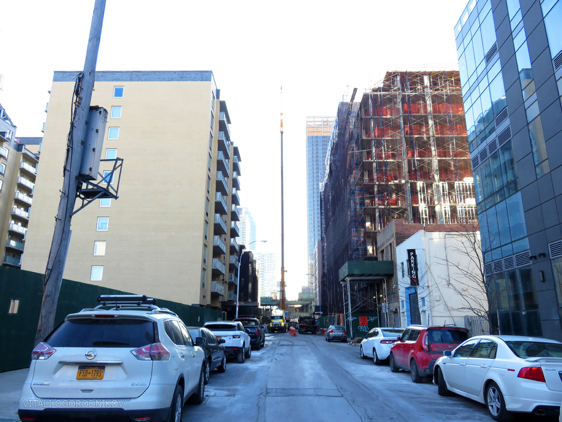 24th Street, looking southwest