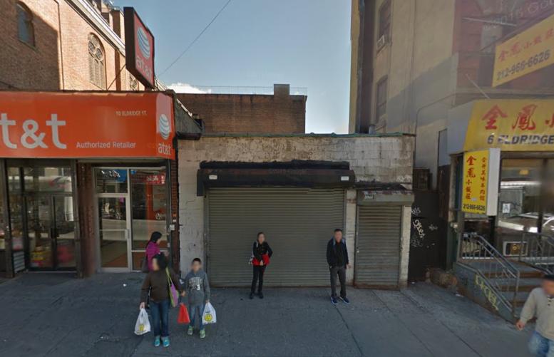 10 Eldridge Street, image via Google Maps
