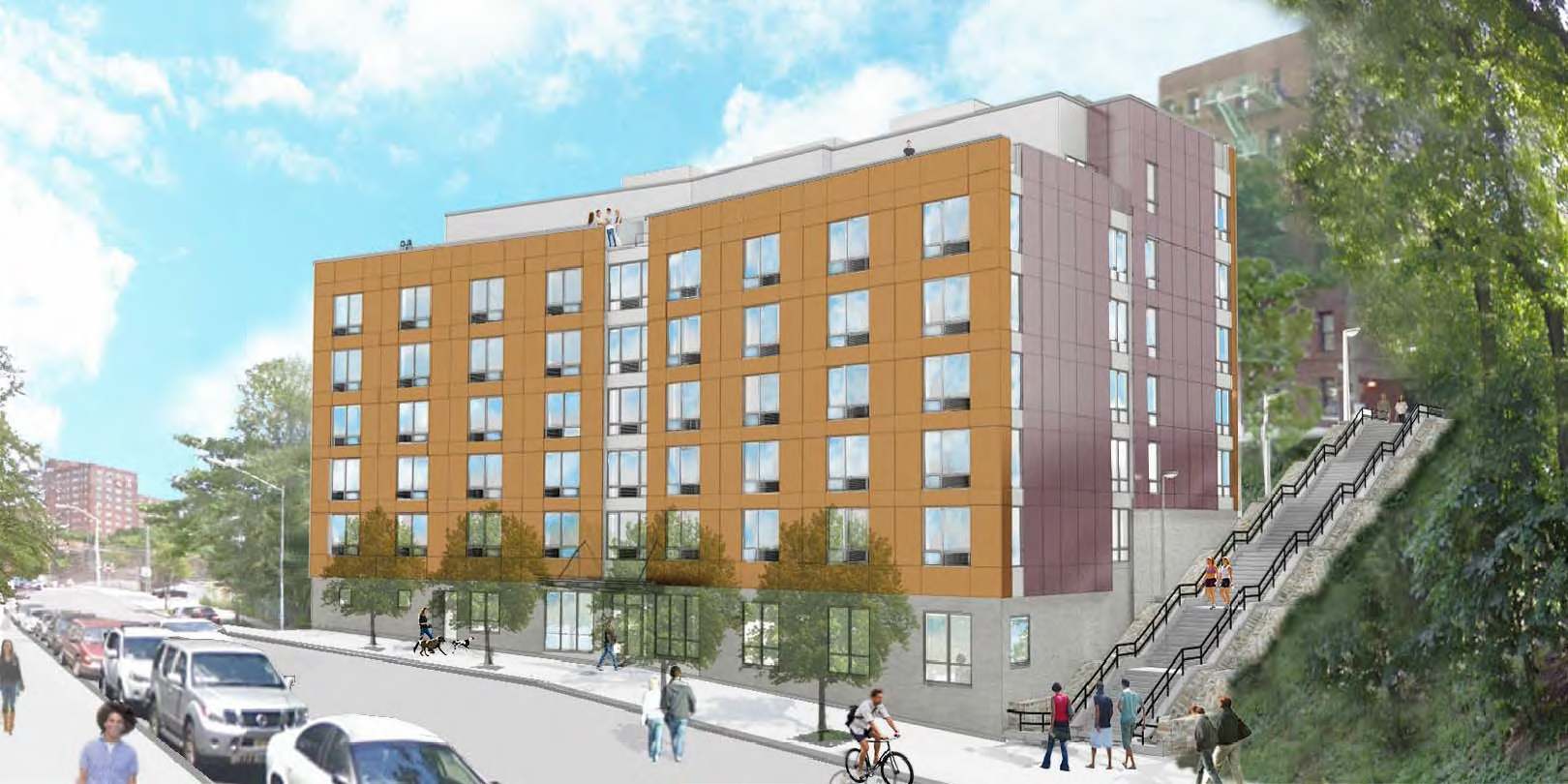 1434 Undercliff Avenue, rendering via Services for the Underserved