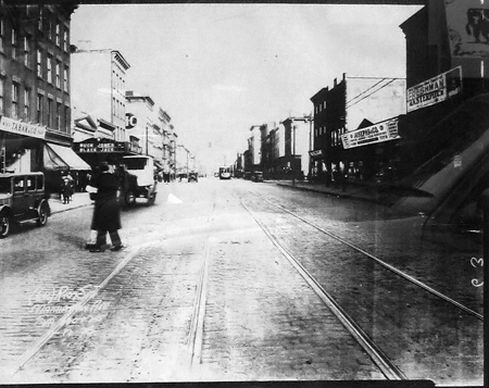 A view of Manhattan Avenue in 1928, via NewYorkShitty