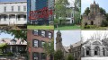 The eight new landmarks designated by the Landmarks Preservation Commission