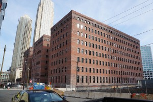 The former Butler Brothers warehouse at 350 Warren Street in Jersey City. all photos by Rebecca Baird-Remba