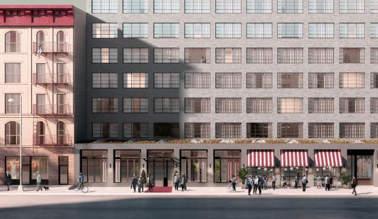 292 North 8th Street, rendering by Macro Sea