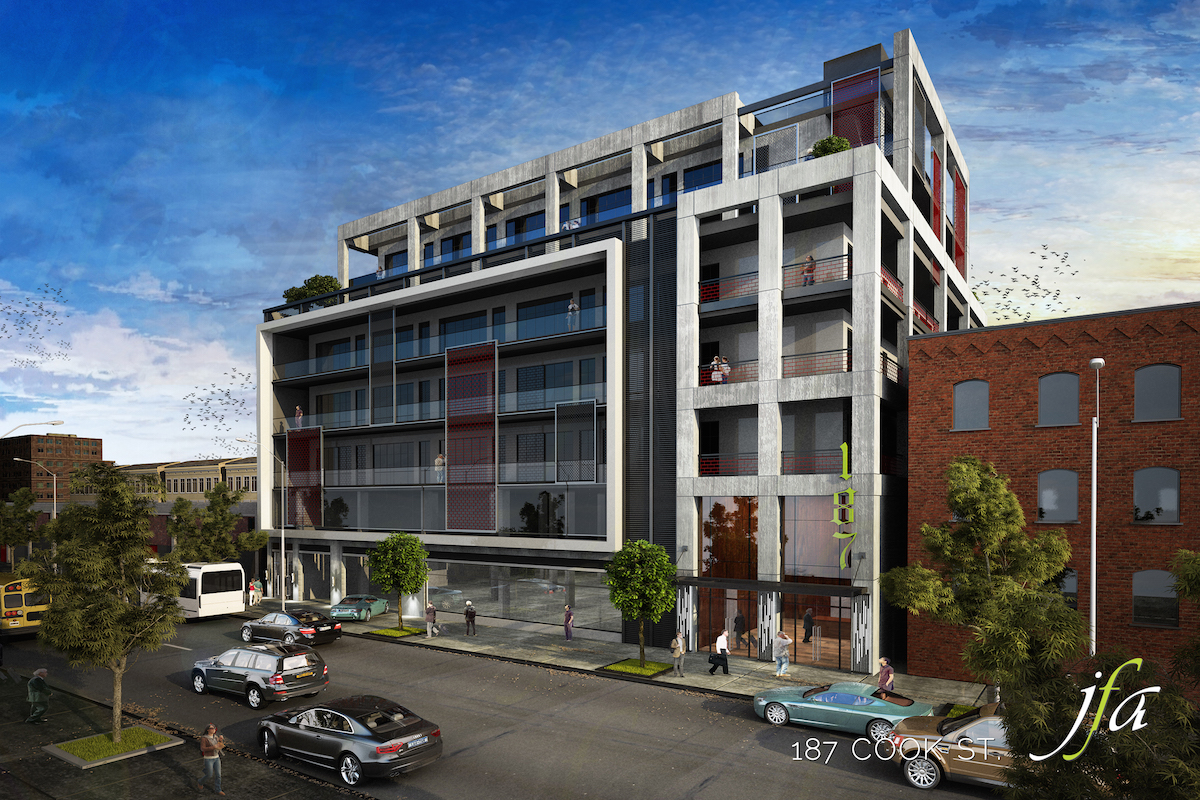 Reveal For 187 Cook Street East Williamsburg Office Space