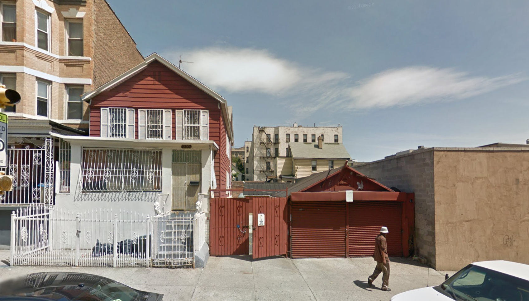 2302 Morris Avenue, image via Google Maps