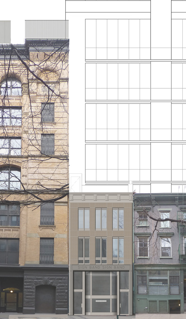 25 Bleecker Street, March 2014 approved proposal