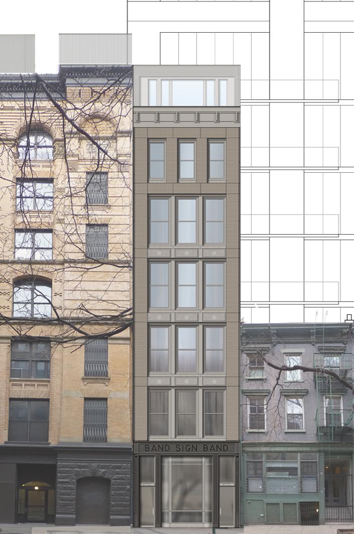 25 Bleecker Street, 2016 approved proposal