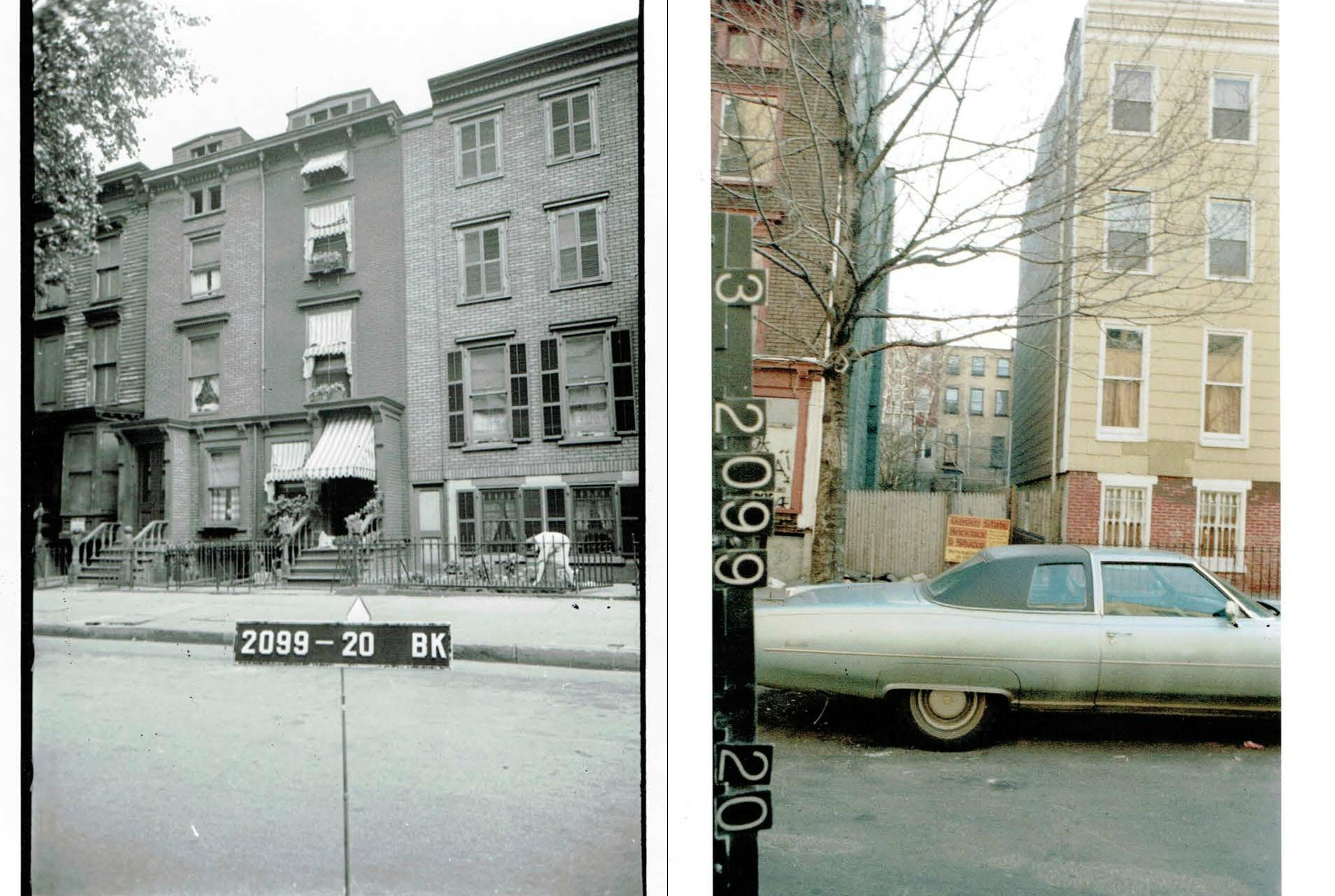 39 South Elliott Place, 1940 and 1960