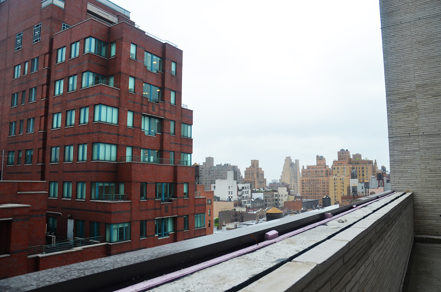 West view from 13th floor terrace at 55 West 17th Street