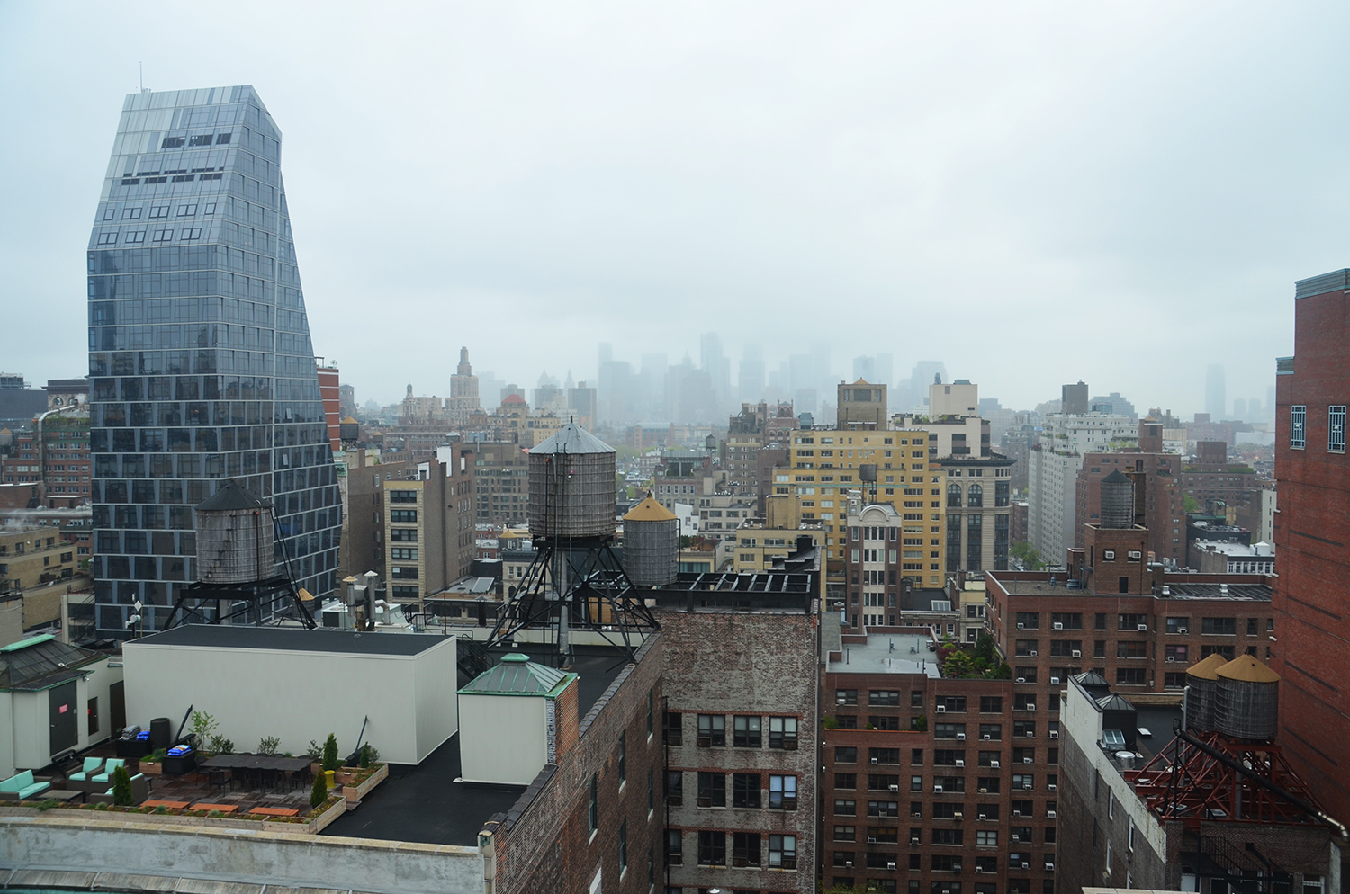 South view from the 19th floor of 55 West 17th Street