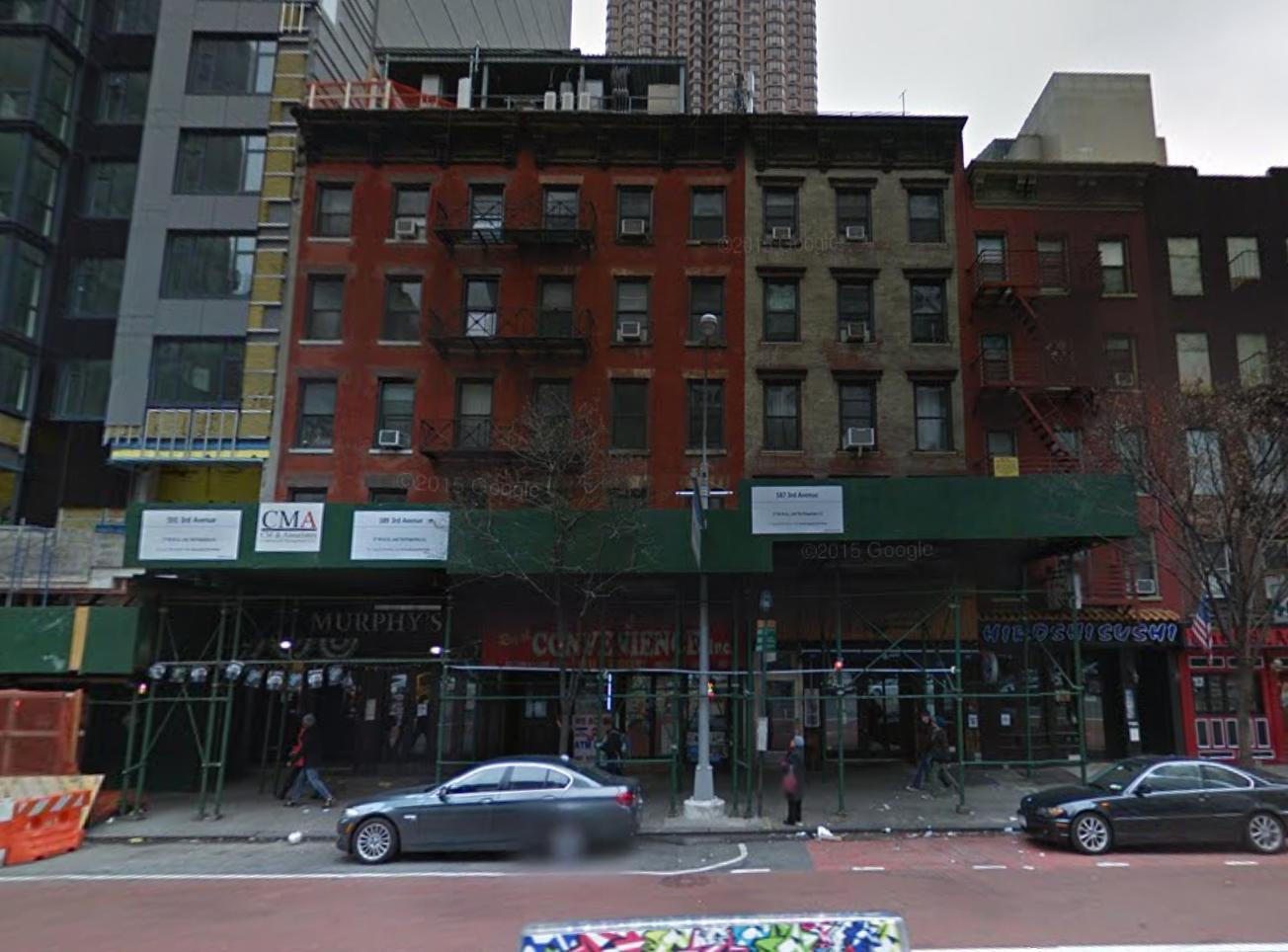 587-591 Third Avenue